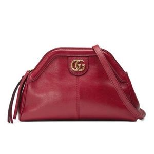 New Gucci Red ReBelle Marmont Crossbody Bag